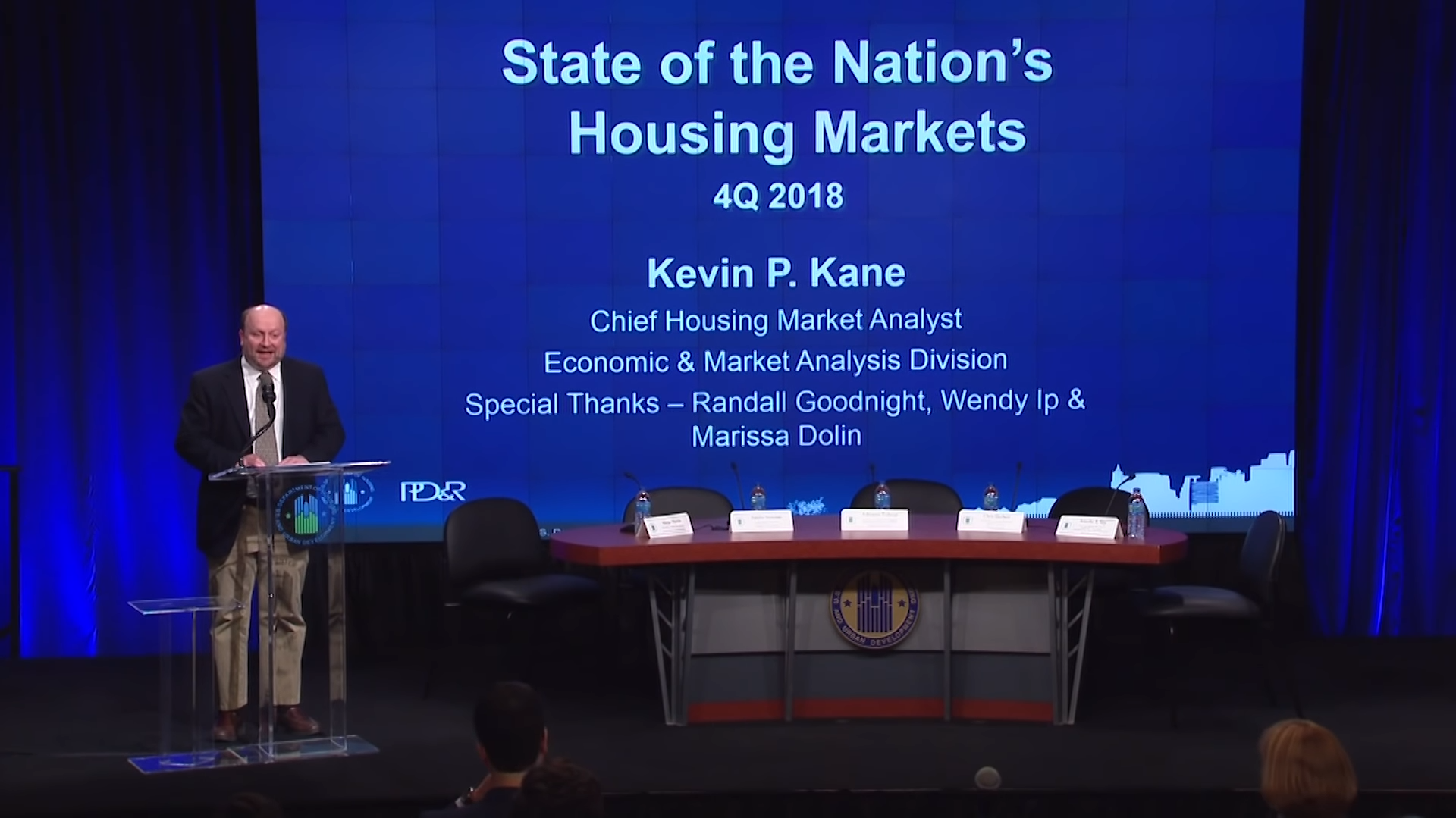 Economics Faculty Participates in Housing Market Update at HUD