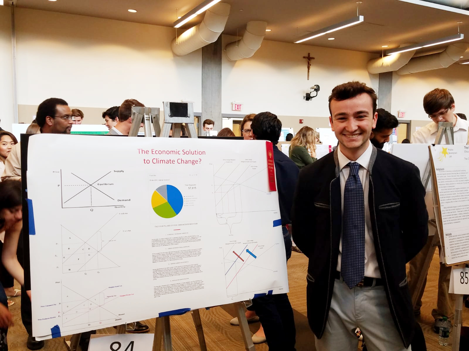 Economics Students Finalists in Annual University Research Day | CUA