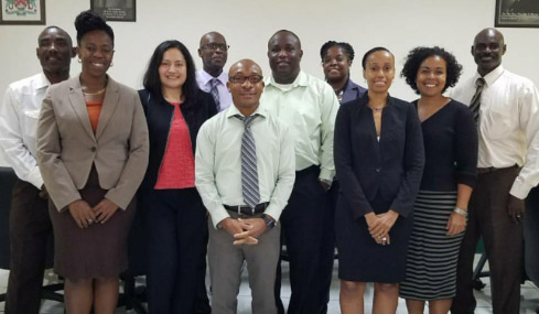 Dr. Martha Cruz Zuniga met with authorities in Caribbean nations