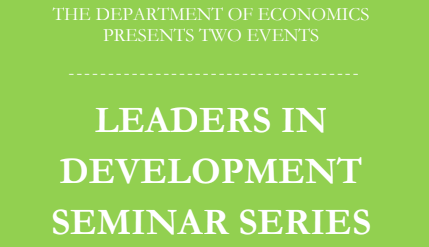 March 2019 Leaders in Development Seminars